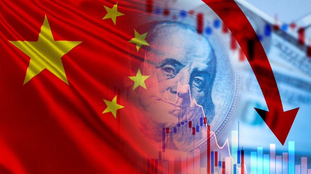 Exchange trade. Falling stock prices of Chinese companies. The decline in Chinese stock prices on the us stock exchange-Delisting China Stocks-ss-featured