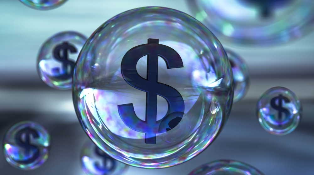 dollar bubble-In A Market Bubble-ss-featured