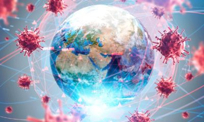 Coronavirus flu ncov over Earth background and its blurry hologram-Return to Normal From Coronavirus-ss-featured