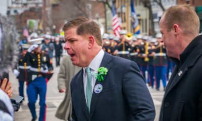 Mayor Marty Walsh marches in the annual South Boston St Patricks Day Parade-Labor Secretary-ss-featured