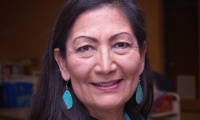 U.S. Rep. Deb Haaland town hall meeting at the main library-First Native American Cabinet-ss-featured