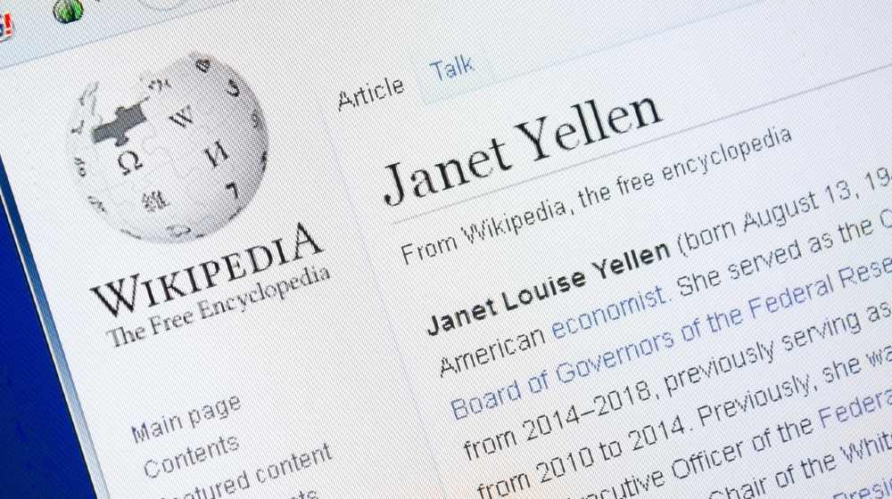 Wikipedia page about Janet Yellen on the display of PC-Global Minimum Tax-ss-featured