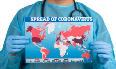 World map of Coronavirus (Covid-19), Close-up countries with Covid-19, Covid 19 map confirmed cases report worldwide globally | Weekly COVID-19 Cases Hit Record High Despite Vaccines | Featured