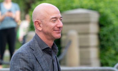 Jeff Bezos arrives at the Statue Of Liberty Museum Opening Celebration at Battery Park | Jeff Bezos To Step Down from Amazon On July 5 | Featured