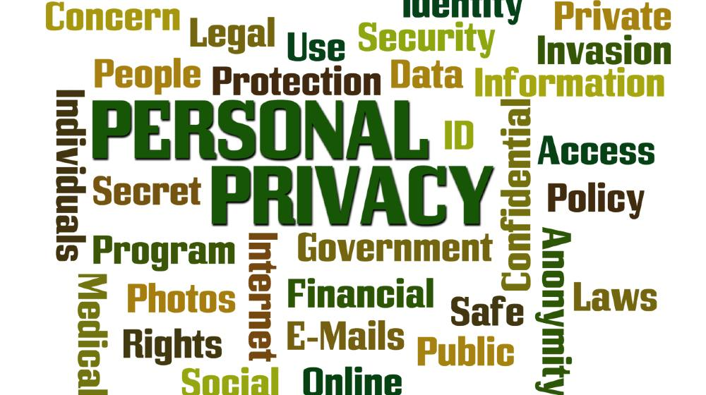 Personal Privacy word cloud on white cloud | Organic SEO Is Becoming More Important | Featured