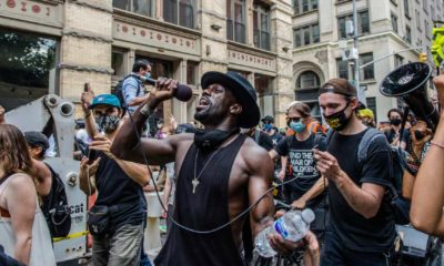 Juneteenth 2020 Protest consumes NYC bringing tens of thousands of protestors out in support for Black Lives Matter | Juneteenth Is Now A Federal Holiday | featured
