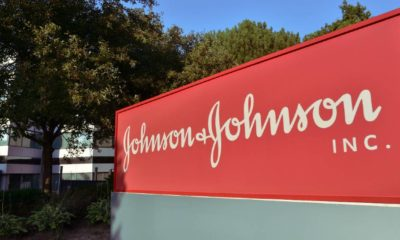 Johnson & Johnson Inc. logo at the Markham office building | Johnson & Johnson Sued For Cancer Causing Sunscreen | featured