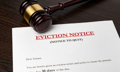 Eviction notice document with gavel. Concept of financial hardship | What Happens Next As Eviction Moratorium Freeze Expires? | featured
