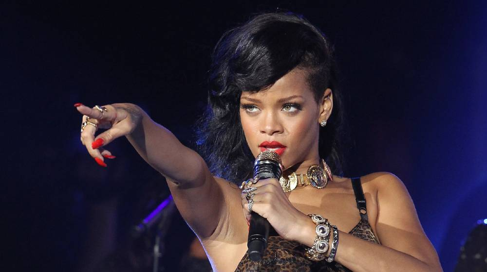 Singer Rihanna performs her 777 secret gig tour at the HMV Forum in Kentish Town in London   Rihanna is Now Worth More Than A Billion Dollars   featured