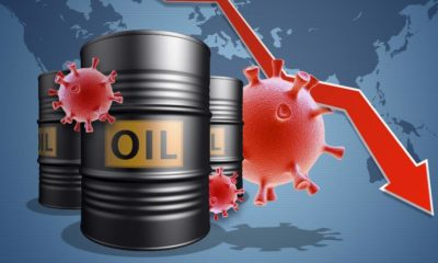The collapse of the market and the stock exchange due to covid-19 coronavirus | Crude Oil Prices Go Down As COVID Fears Return | featured