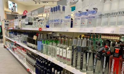 Bottles of vodka are displayed on the shelves of the LCBO liquor store | A Liquor Shortage Still Persists in Several US States | featured